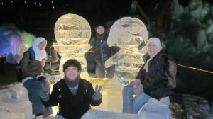 pororo ice sculpture